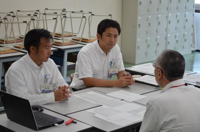 2A桑原先生・田部先生