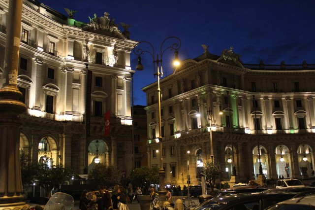 3ローマ 夜景