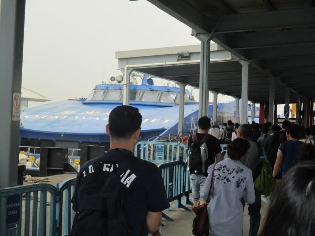 ②ジェットで香港へ