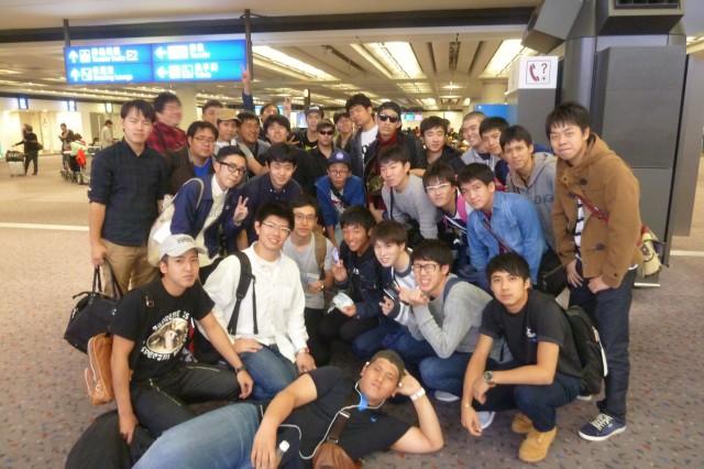 ⑧香港空港で E