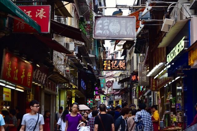 ⑲香港街並み