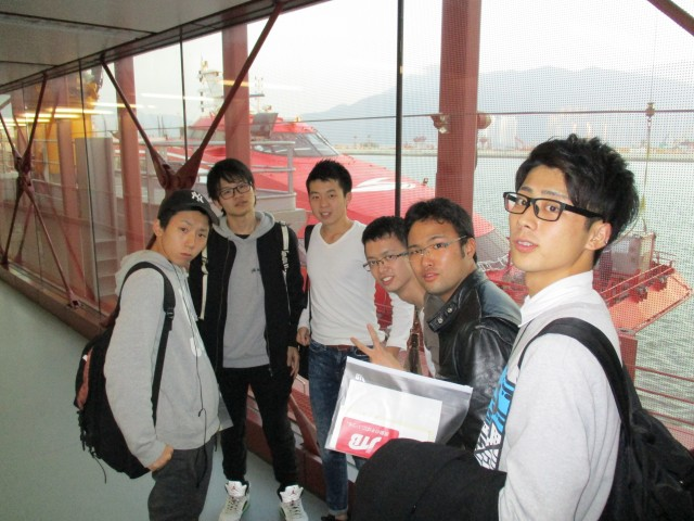⑨香港からマカオ フェリー A